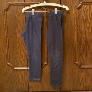 2 pairs size 6/6X jeggings
